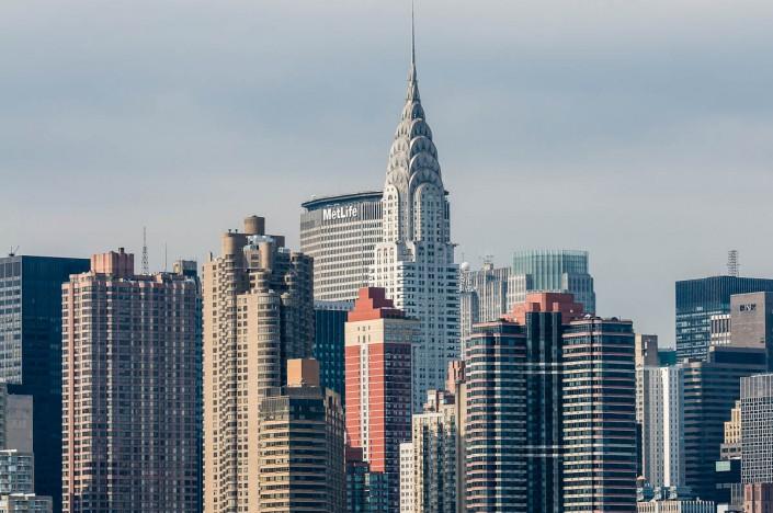 MetLife and Chrysler Buildings