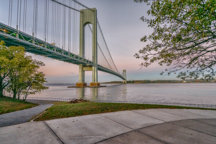 Verrazano Bridge at Sunrise Summer 2012